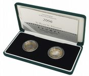 2006 2 x  Silver Proof Piedfort £2 Paddington and Achivments